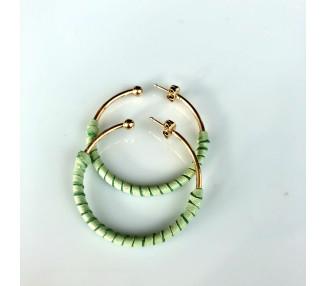 Bracelet noix de coco et argent 925