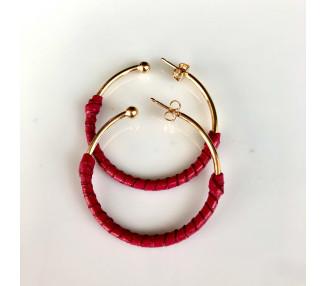 Bracelet Coconut et argent. Tête acier inoxydable